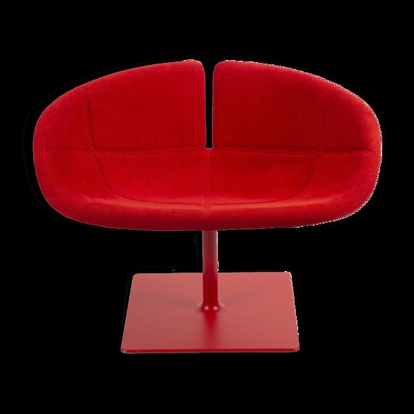 Red Fjord Swivel Chair par Patricia Urquiola pour Moroso