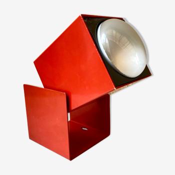 Lampe applique spot cube Lita France design vintage années 70
