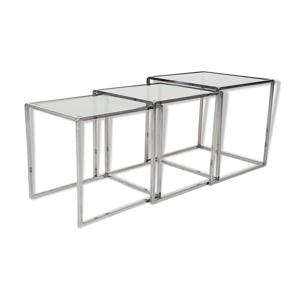 Selency Table gigognes, années 70