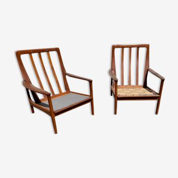 Larges fauteuils scandinaves