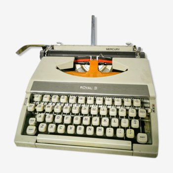 Royal Mercury Typewriter