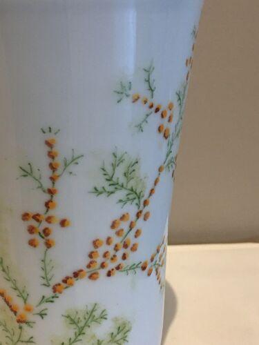 """Vase """"Mimosa"""" porcelaine de Limoges"""