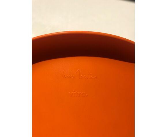 Panton Junior mandarine de Verner Panton édité par Vitra