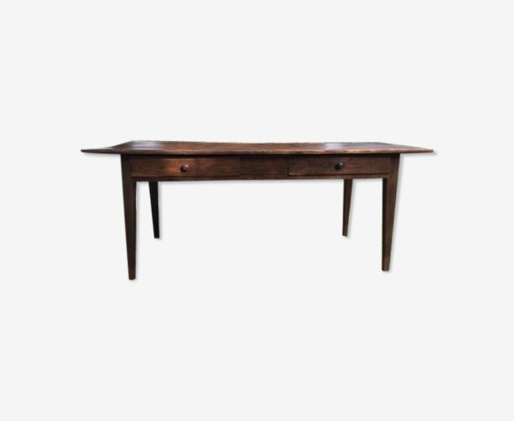 Table ancienne en noyer