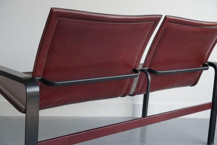 Sofa 2 places Jacques Toussaint & Patrizia Angeloni for Matteo Grassi