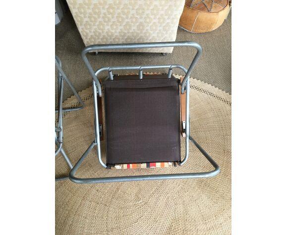 Paire de fauteuils camping