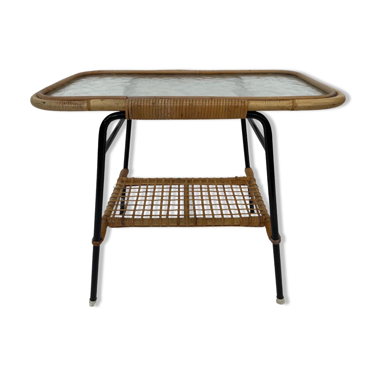 Table basse vintage par Rohe Noordwolde, 1960, Pays-Bas Dirk van Sliedregt