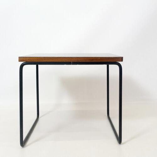 Table d'appoint noire de Pierre Guariche pour Steiner, 1955