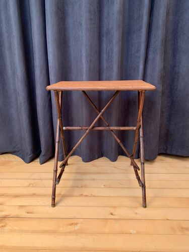 Table basse en bambou Angleterre 1920