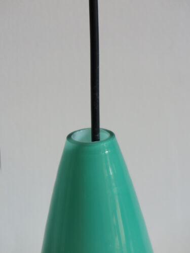 Suspension multicolore en verre italien, années 1950