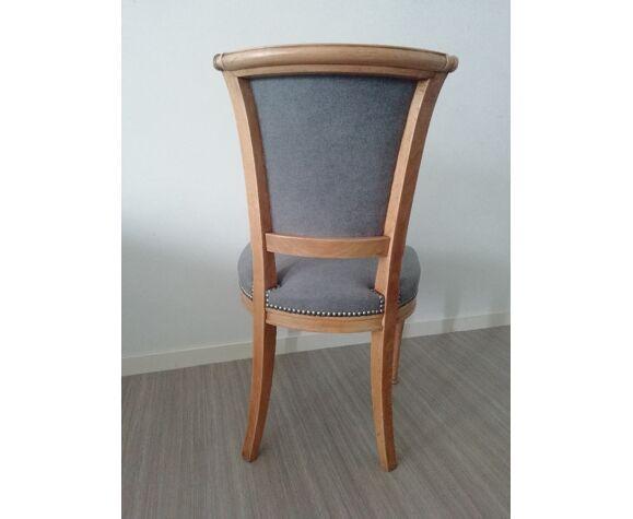 Chaise de style directoire entièrement restaurée