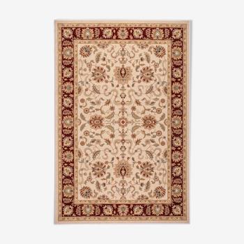 Tapis oriental 240x340 cm beige et rouge