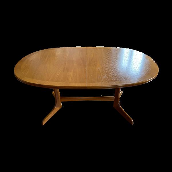 Table à manger en teck milieu de siècle William Laurence