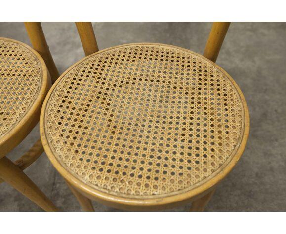 4 chaises Baumann modèle Anteuil 1986
