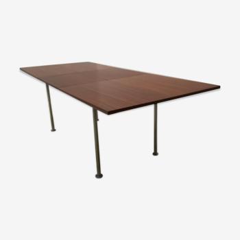 Table de salle à manger extensible par Aalfred Hendrickx pour Belform années 60