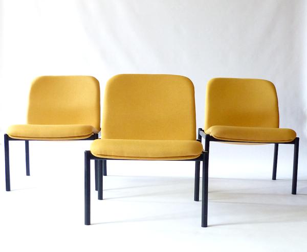 Lot de 3 fauteuils lounge Drabert