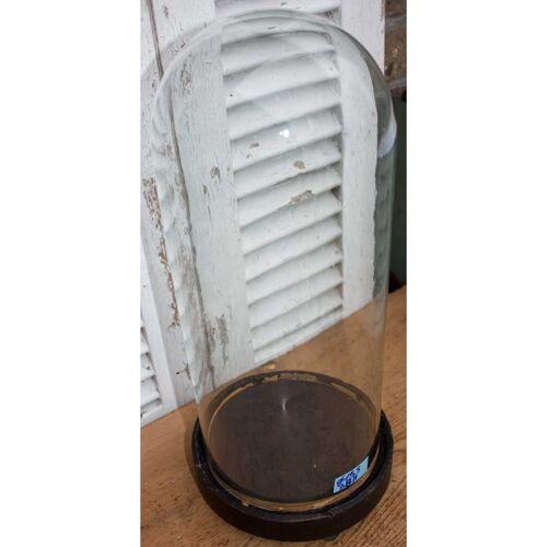 Globe rond en verre 38 cm