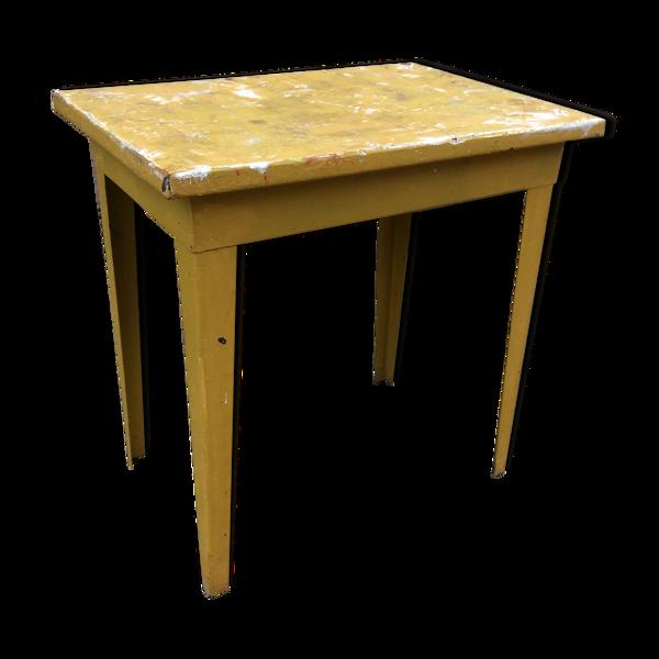 Table d'atelier métal 1950