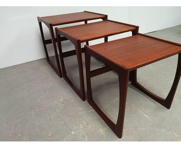 Tables gigogne style vintage