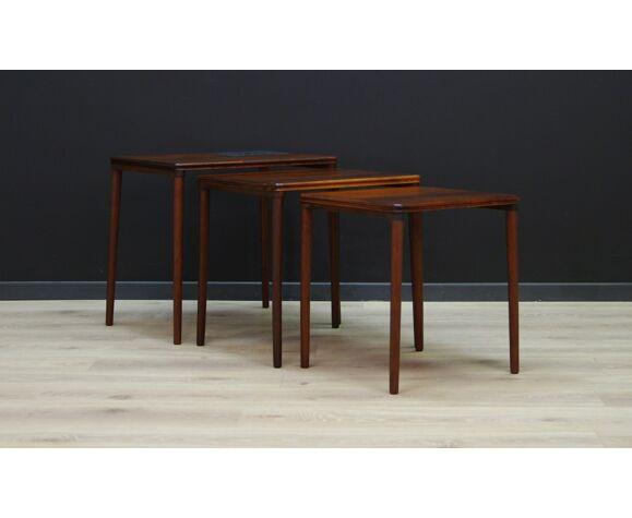 Coffee table rosewood vintage 60 70 retro