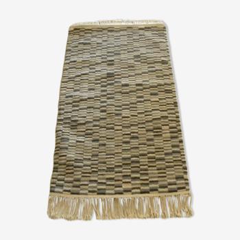 Tapis berbère marocain bohème en laine décoration orientale