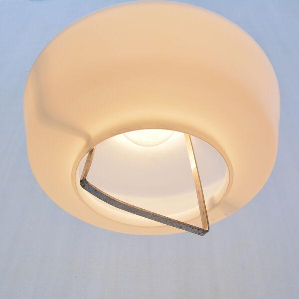 Lampe suspendue, Kamenický Šenov, Tchécoslovaquie, années 1950