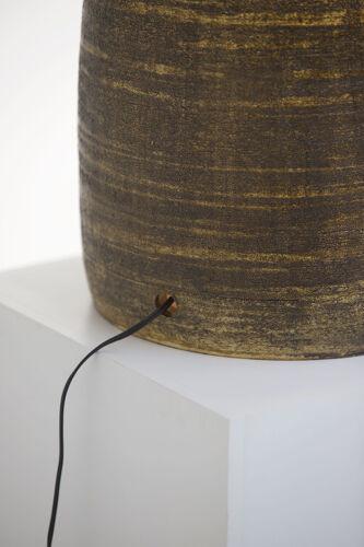 Lampe en céramique Georges Pelletier