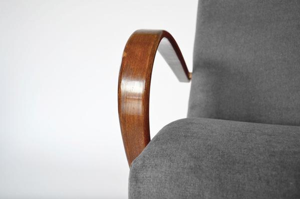 Paire de fauteuils 53 par Jaroslav Smídek pour TON, années 1960