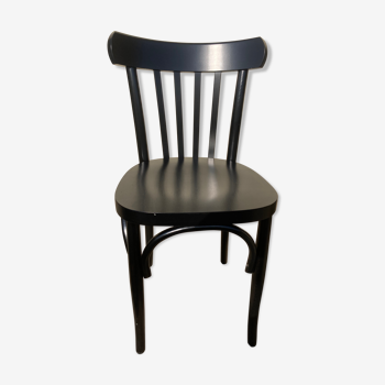 Chaise bistrot noire