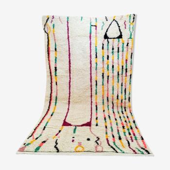 Tapis laine style berbère tribal 300 x 182 cm