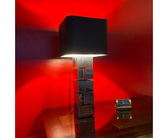 """Paire de lampe """"Building"""" de Curtis Jeré 1970"""