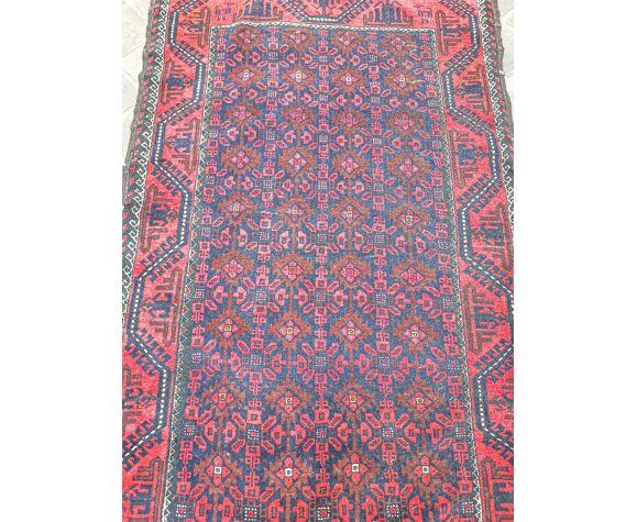 Tapis d'orient fait main vintage persan Belouch 175 x 100