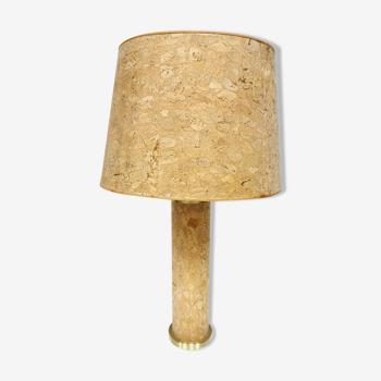Lampe de table en liège d'Ingo Maurer