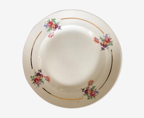 Plat porcelaine Badonviller