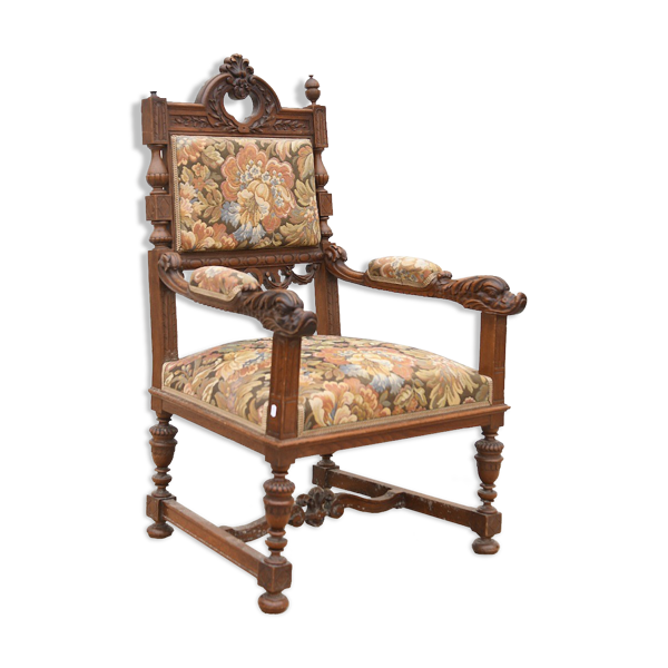 Fauteuil style baroque