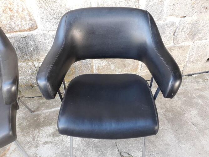 Paire de fauteuils vintage