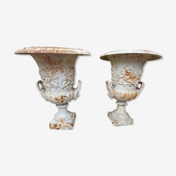 Vases médicis Versailles en fonte