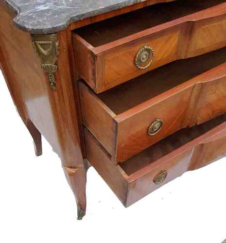 Commode de style transition