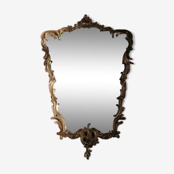 Miroir en bronze 80x55cm