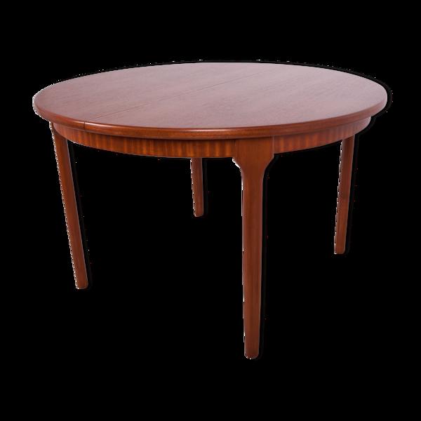 Selency Table à manger extensible ronde de McIntosh, années 1960