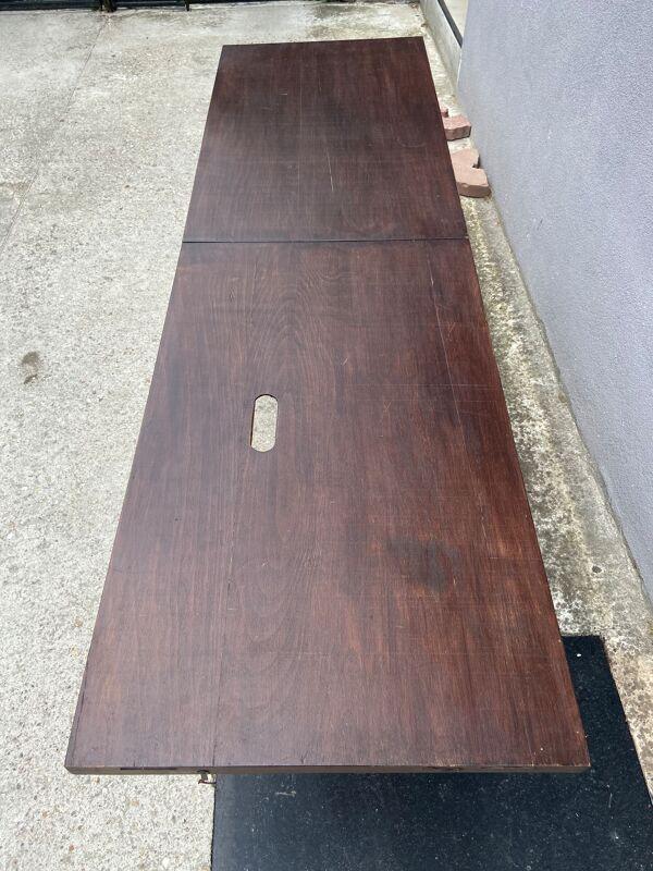 Table de tapissier en bois