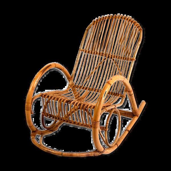 Rocking-Chair par Rohe Noordwolde années 1960
