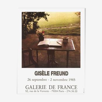 Gisele freund poster 1985