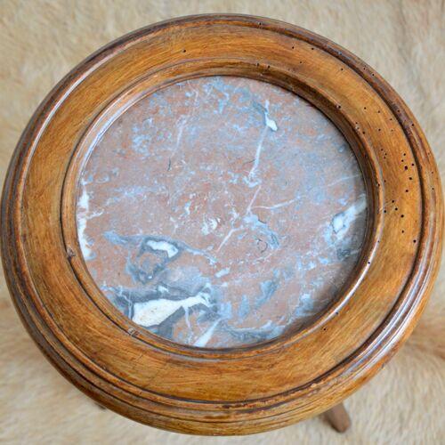 Sellette avec plateau en marbre