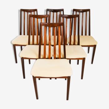 Ensemble de 6 chaises G Plan