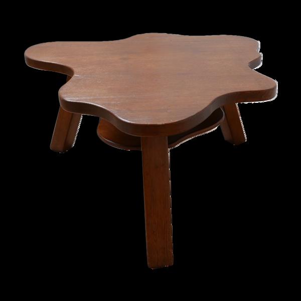 Table basse hollandaise, forme libre