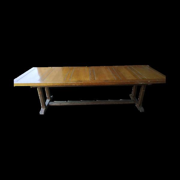 Selency Table en chêne ancienne