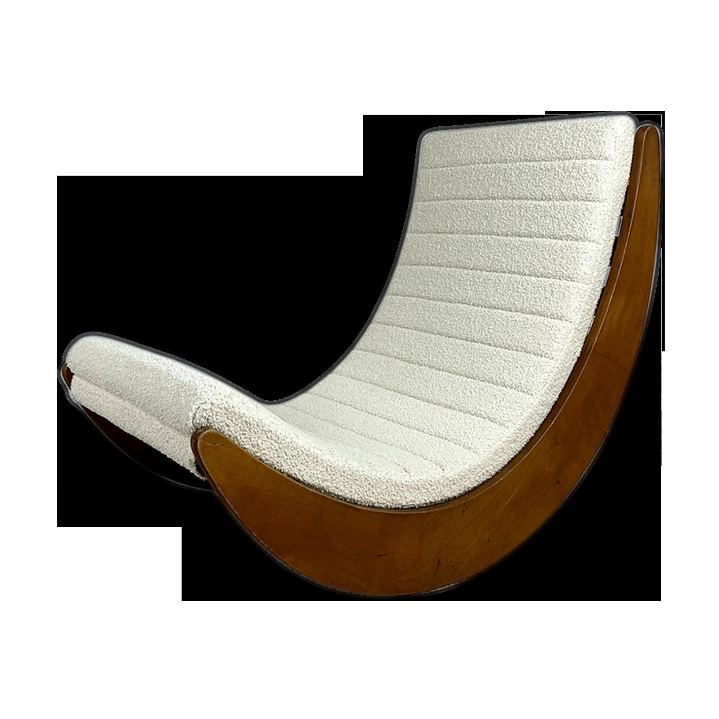 Rocking-chair par V. Panton