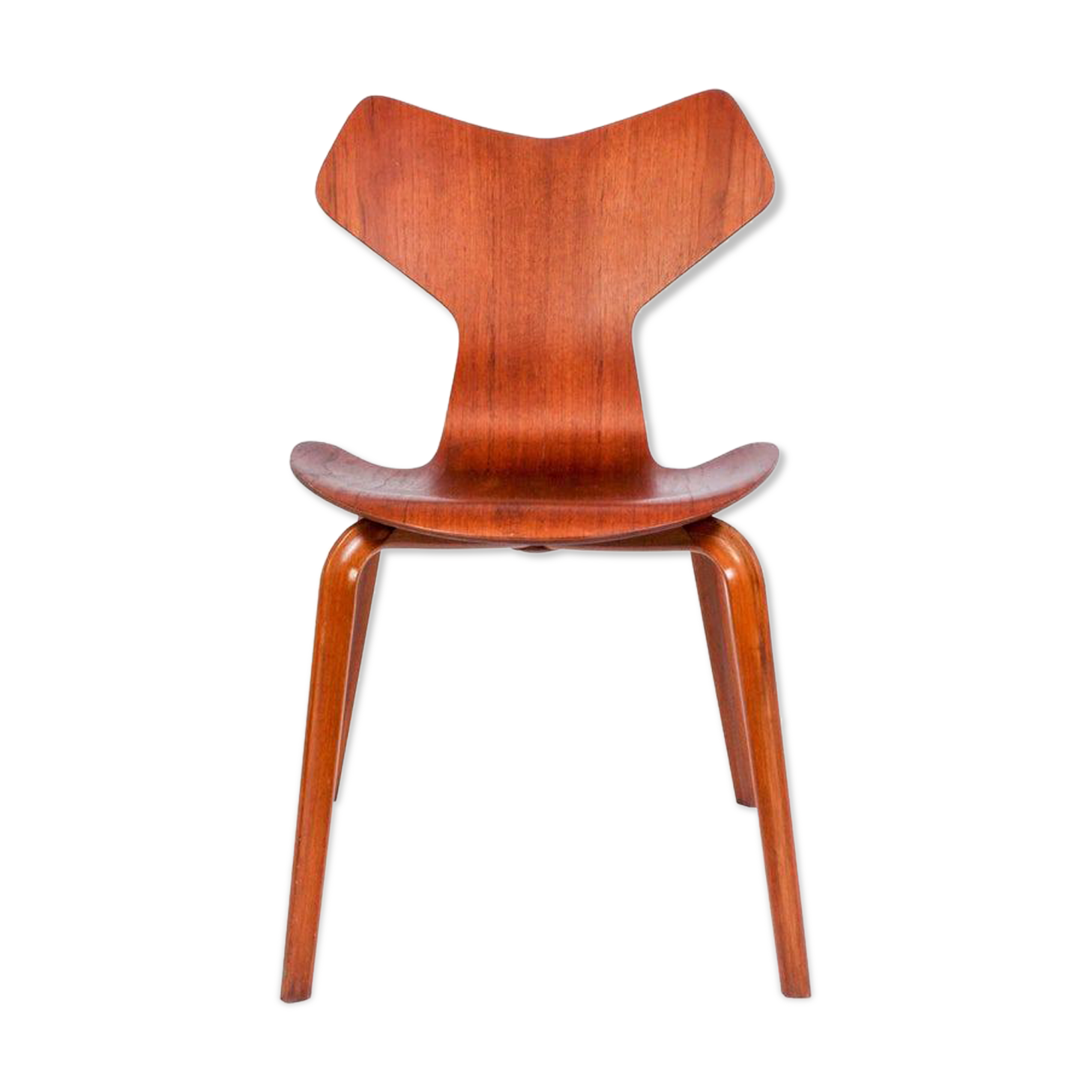 Chaise modèle 3130 par Arne Jacobsen pour Fritz Hansen 1957