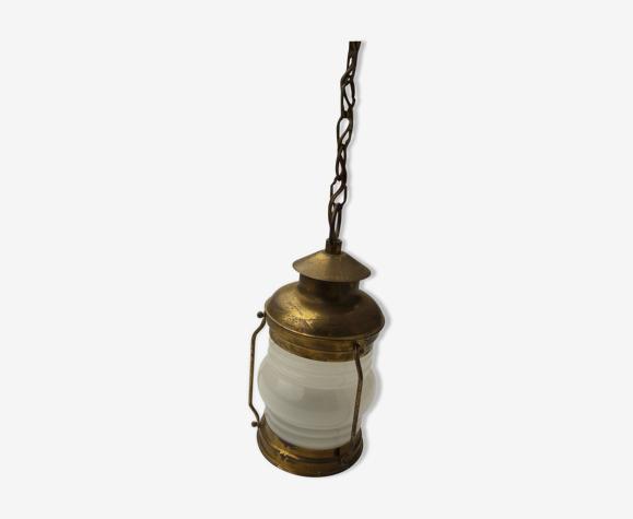 Lantern hanging lamp